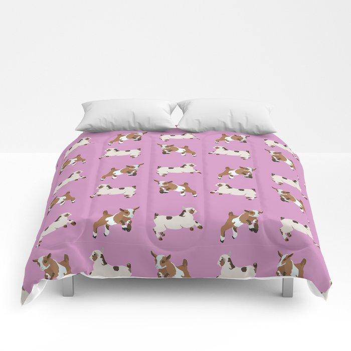 Baesic Prancing Goats Comforters