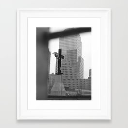Ground Zero Framed Art Print