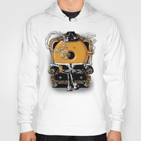 gangster Hoodies featuring Gangster Donut by Javier Ramos