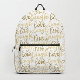 Live Laugh Love II Backpack