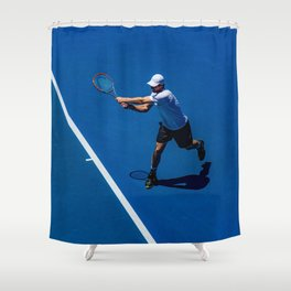 Tennis player Shower Curtain