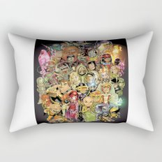 Lil' X Rectangular Pillow