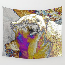AnimalArt Polar Bear Wall Tapestry
