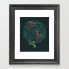 Prince Atlas Framed Art Print