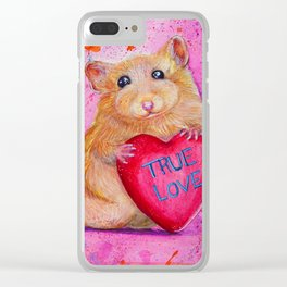 True Love to Share Clear iPhone Case