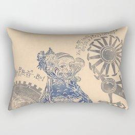 Ada, Countess Lovelace, Enchantress of Numbers Rectangular Pillow