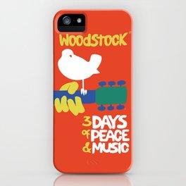 Woodstock 1969 iPhone Case