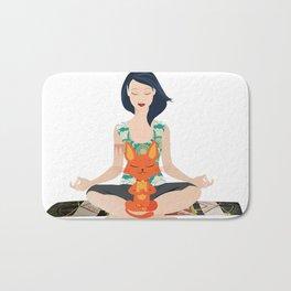 Yoga partners Bath Mat