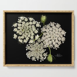 Queen Ann's Lace, Scenography Serving Tray