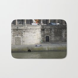 Naptime in Paris Bath Mat