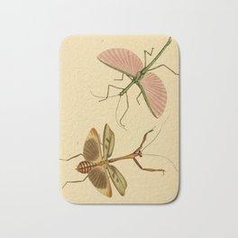 Naturalist Stick Bugs Bath Mat