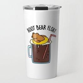Root Bear Floar Cute Root Beer Pun Travel Mug