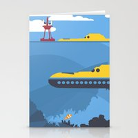 finding nemo Stationery Cards featuring The Tomorrowland Series: The Finding Nemo Submarine Voyage by The Disneyland Minimalist