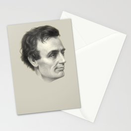 Abraham Lincoln Without Beard, 1860 Stationery Cards