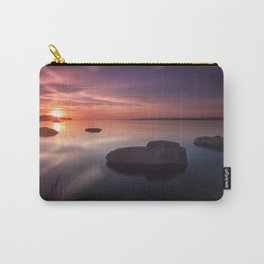 Sunset on the Estuary Carry-All Pouch