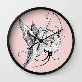 Tiny Dancer - Inktober #22 Wall Clock