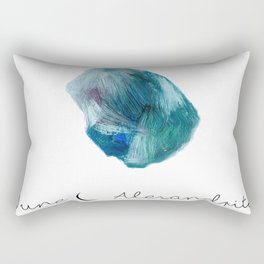 june alexandrite Rectangular Pillow