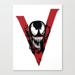 We are Venom Canvas Print