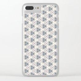 Dizziness Clear iPhone Case