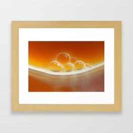 Drink your vegetables Framed Art Print