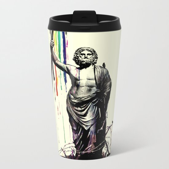God of Graffiti Metal Travel Mug