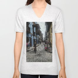 While in Cartagena Unisex V-Neck