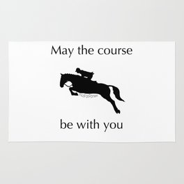 May the course be with you Rug