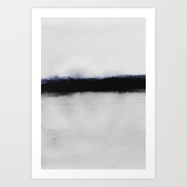 Simple Horizon Art Print