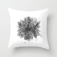 flawless Throw Pillows featuring flawless by ridwanafid