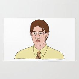 Jim as Dwight Rug