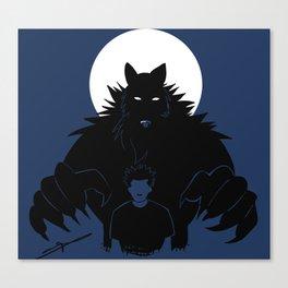 Beast in me Canvas Print