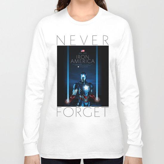 IRON AMERICA 9/11 Long Sleeve T-shirt