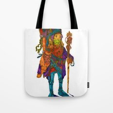 Nomad Funk Legs Robo Sandal Brother Tote Bag
