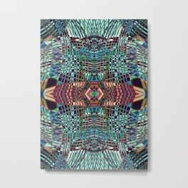 SWEEPING LINE PATTERN II-A3 Metal Print