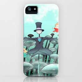 Studio Ghibli Jumping iPhone Case