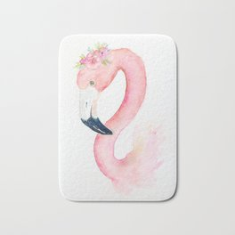 Sweet Flamingo Bath Mat