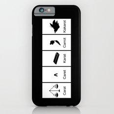 Carat, Caret, Karat, Carrot, Kakarot iPhone 6s Slim Case