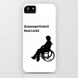 Intersectional Feminist iPhone Case