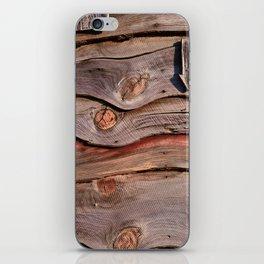 Weathered Wood iPhone Skin