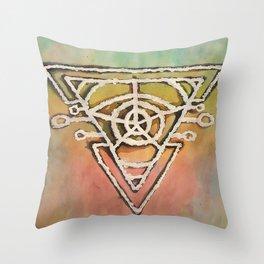 Geometric Portal Throw Pillow
