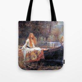 John William Waterhouse The Lady of Shalott Tote Bag