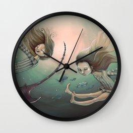 Swing Sisters Wall Clock
