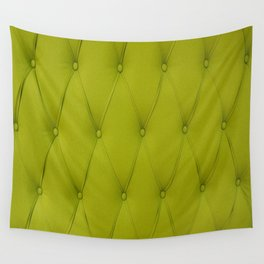 Quilted Chartreuse Wall Tapestry