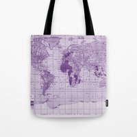 prince Tote Bags featuring Prince by Catherine Holcombe
