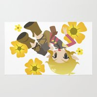 dragon age Area & Throw Rugs featuring Dragon Age - Buttercup Sera by Choco-Minto