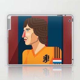 Johan Cruyff, The Godfather of Modern Football Laptop & iPad Skin