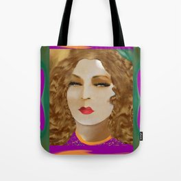 The Skeptic by Lin Masters Tote Bag