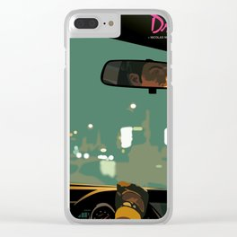 Drive movie poster Clear iPhone Case
