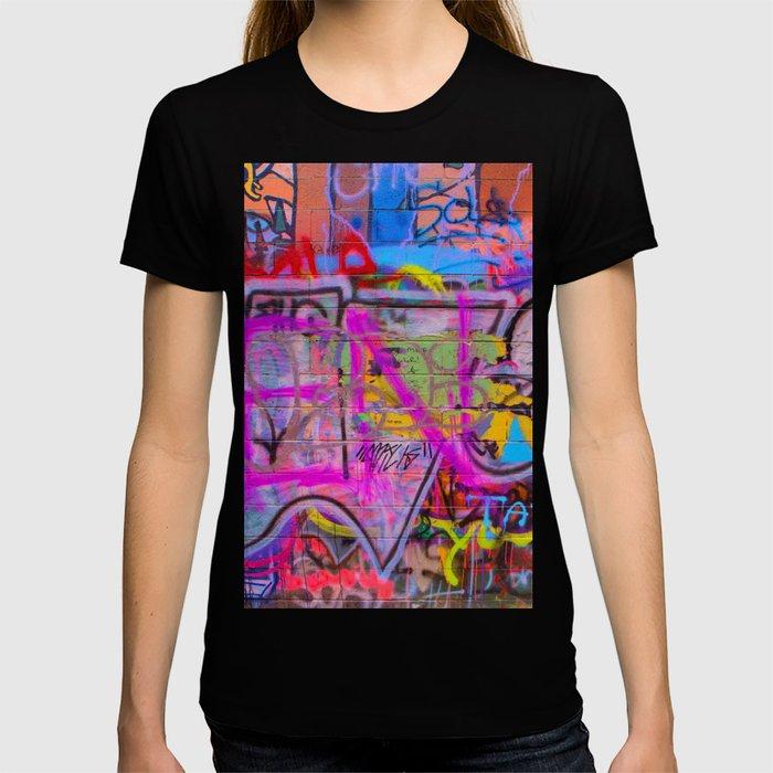 Bright Graffiti T-shirt