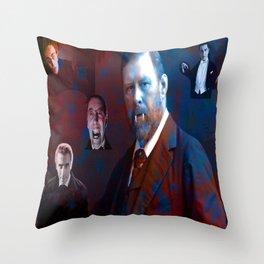 Bram Stoker Throw Pillow